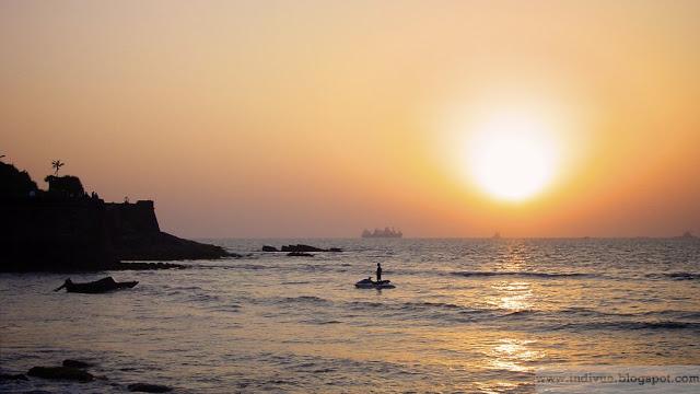 Siquerim Beach, Goa, Intia