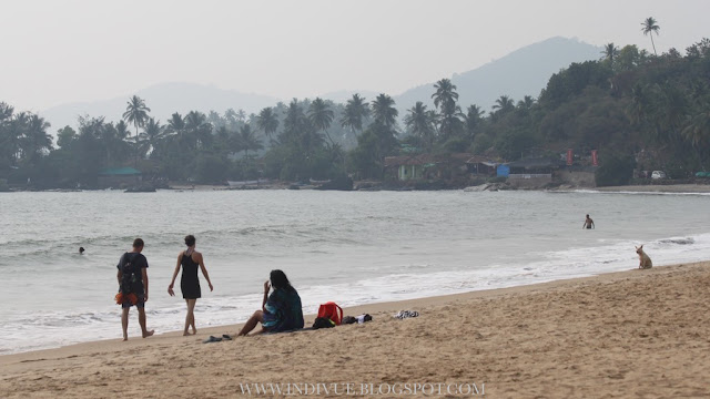 Patnem-Colomb Beach, Goa, Intia