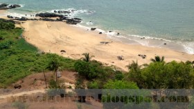 Japanese Garden Beach, Goa, India