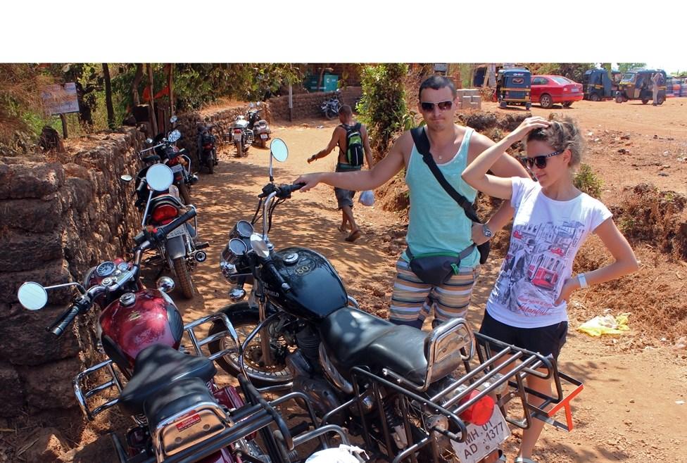 Авария в Индии: по Индии на мотоцикле