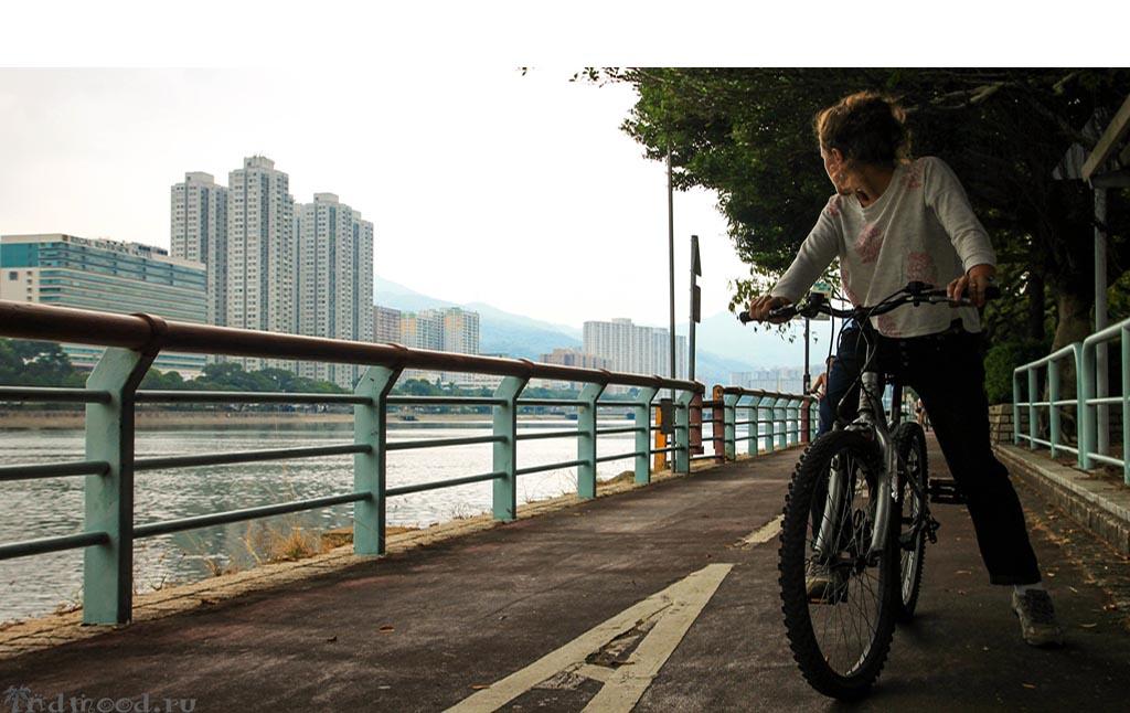 Гонконг: на велосипеде по стране!