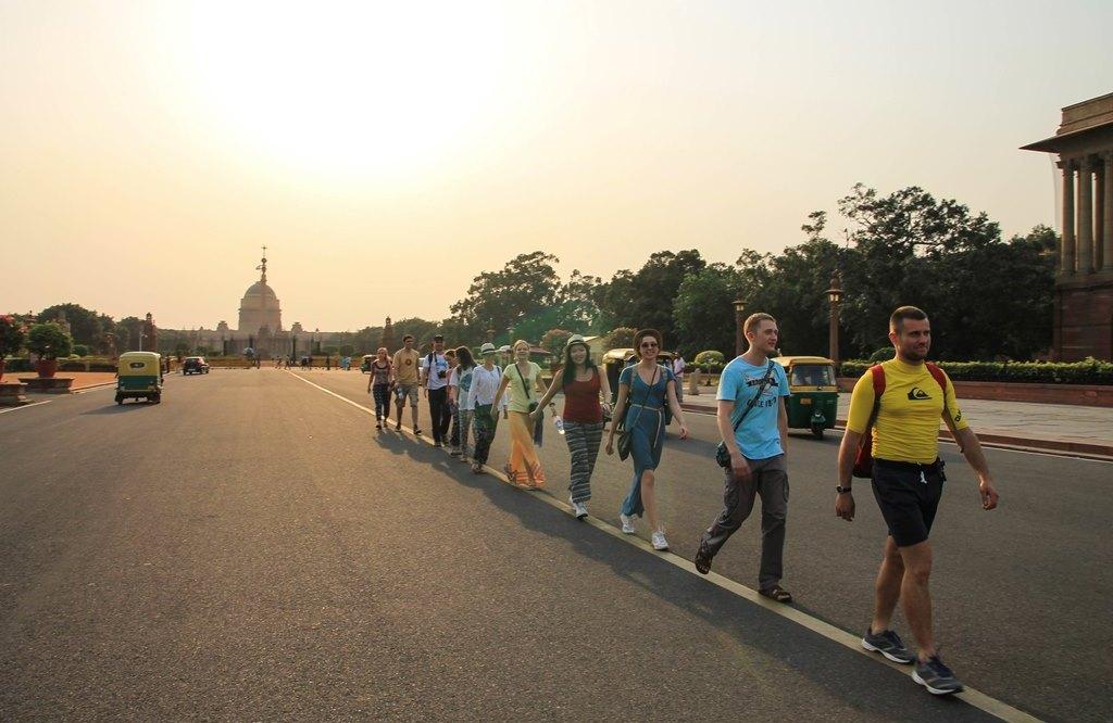 Нью Дели, Индия: What's up Delhi!