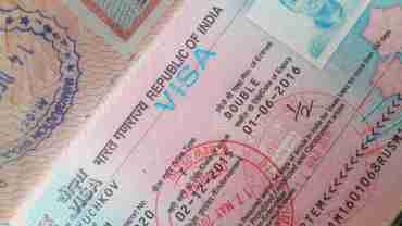 Виза в Индию: стоимость, получение