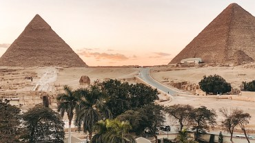 Другой Египет: море, пирамиды, воздушные шары
