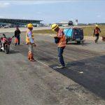 Taxiway Diperbaiki, Bandara APT Pranoto Tutup 26 Hari