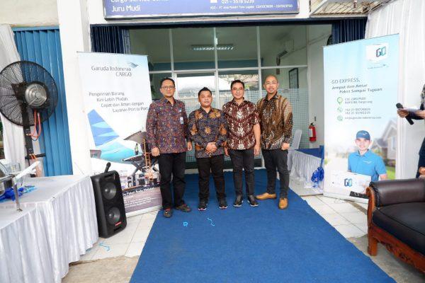 Garuda Indonesia membuka Cargo Service Center