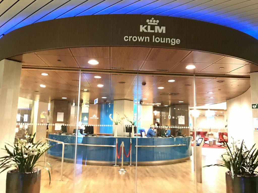 Crown Lounge KLM
