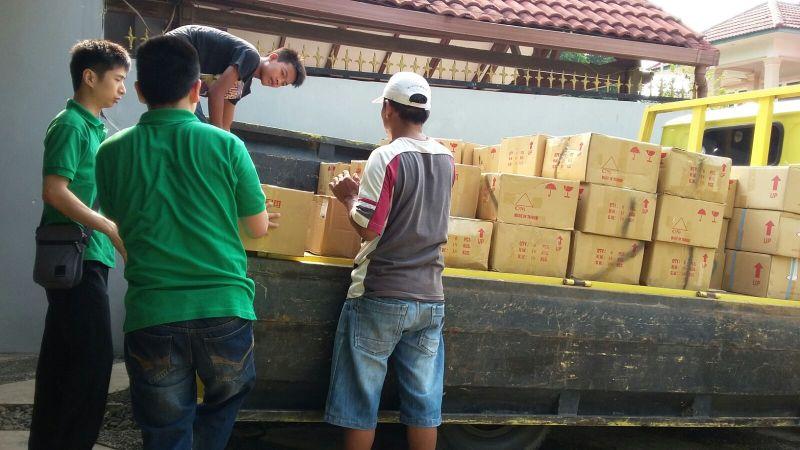Loading goods