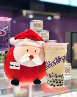 1. Chatime - pearl milk tea