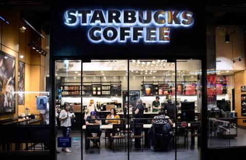 4. Starbucks Outlet