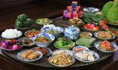 Traditional food served in Tet in the Central of Vietnam