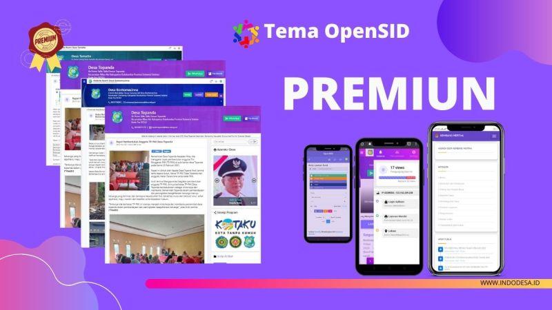 Tema premiun OpenSID - DeNatra