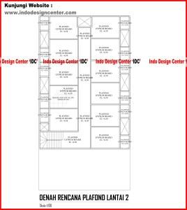 049.Denah Rencana Plafond Lantai 2