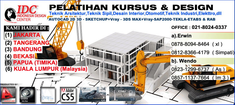 Perhitungan analisa struktur ruko 3 lantai 021 arsip for Kursus interior design jakarta barat