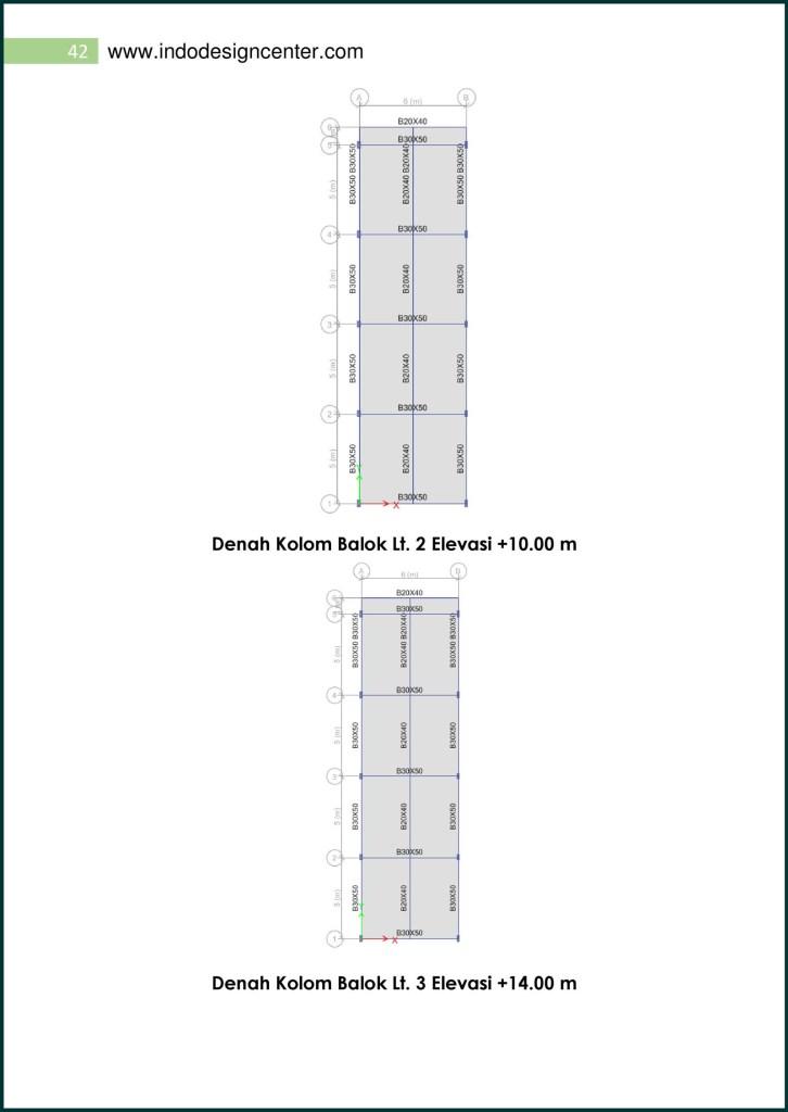 Analisa Struktur Ruko (42)