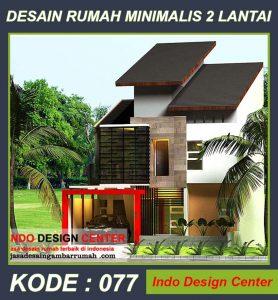 Desain Rumah Pak Ghani Di Kramat Jati
