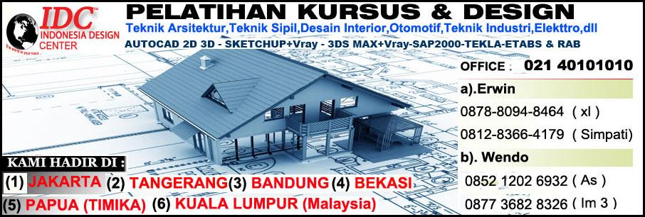 Kursus AutoCAD 2D 3D Di Medan