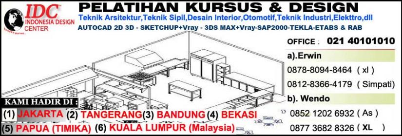 Kursus Sketchup Di Yogyakarta
