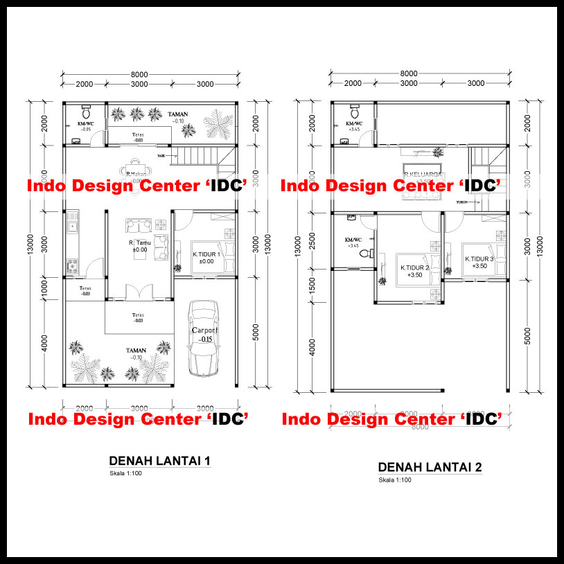 Denah-Rumah-2-Lantai-Jakarta-Pusat