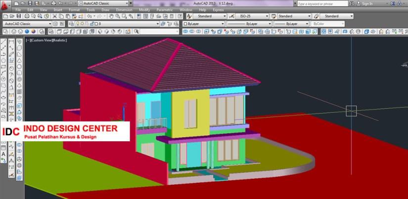 Kursus AUTOCAD 2D 3D Mba Eli Di Bandung