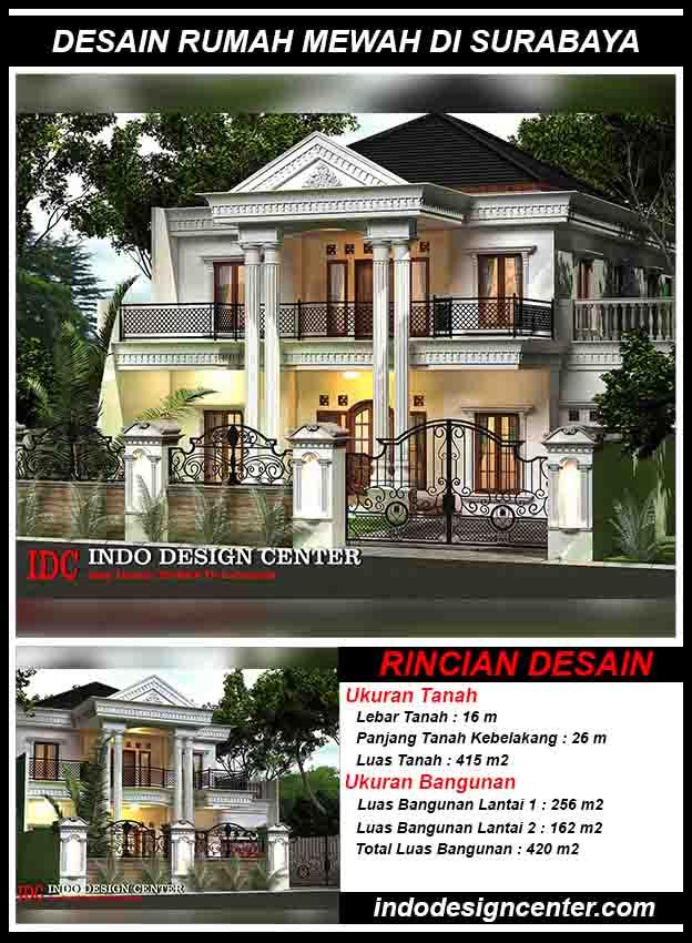 Jasa Arsitek Desain Rumah Mewah Di Surabaya