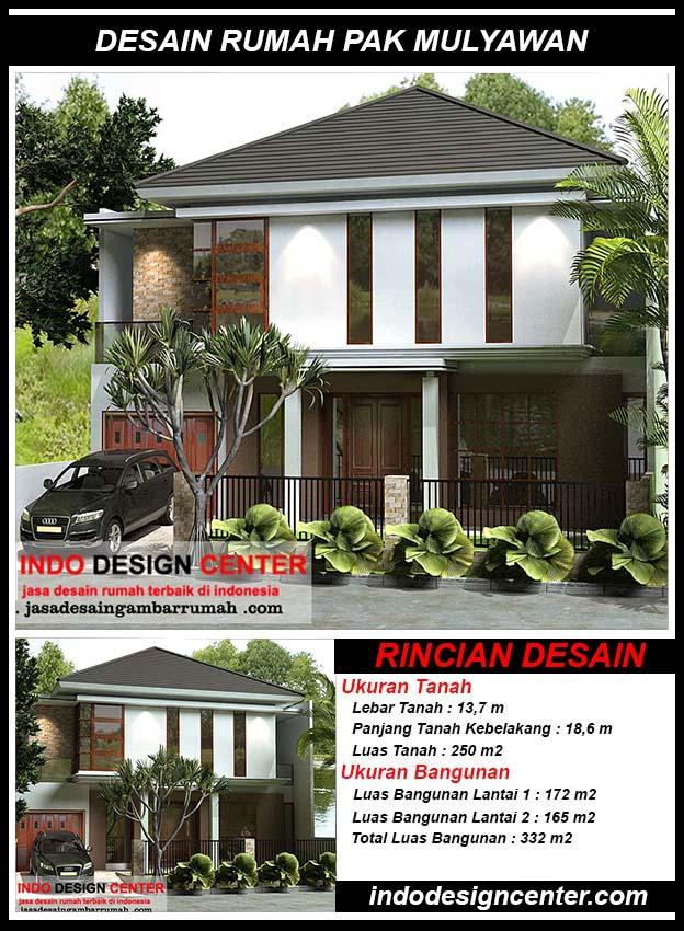 Desain Rumah Pak Mulyawan Cilandak