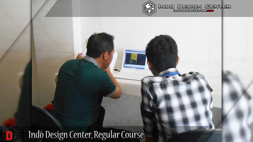 Indo Design Center, Regular Course