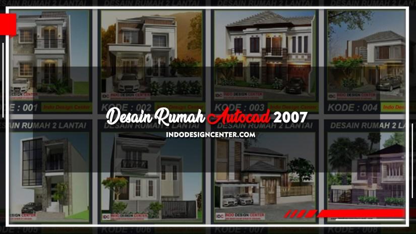 Desain Rumah Autocad 2007