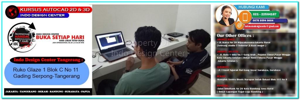 Kursus Drafter AutoCAD Di Situgadung-Tangerang-Jakarta-Bekasi-Bandung-Surabaya