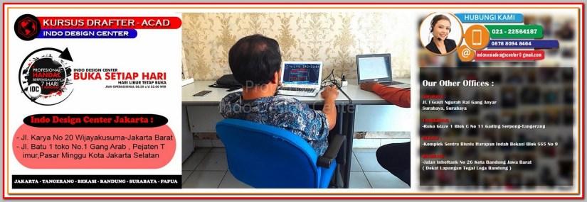 Tempat Kursus AutoCAD Di Kramat - Jakarta - Tangerang - Bekasi - Bandung - Surabaya