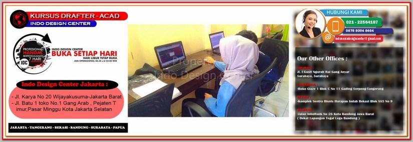 Tempat Kursus AutoCAD Di Rawasari - Jakarta - Tangerang - Bekasi - Bandung - Surabaya