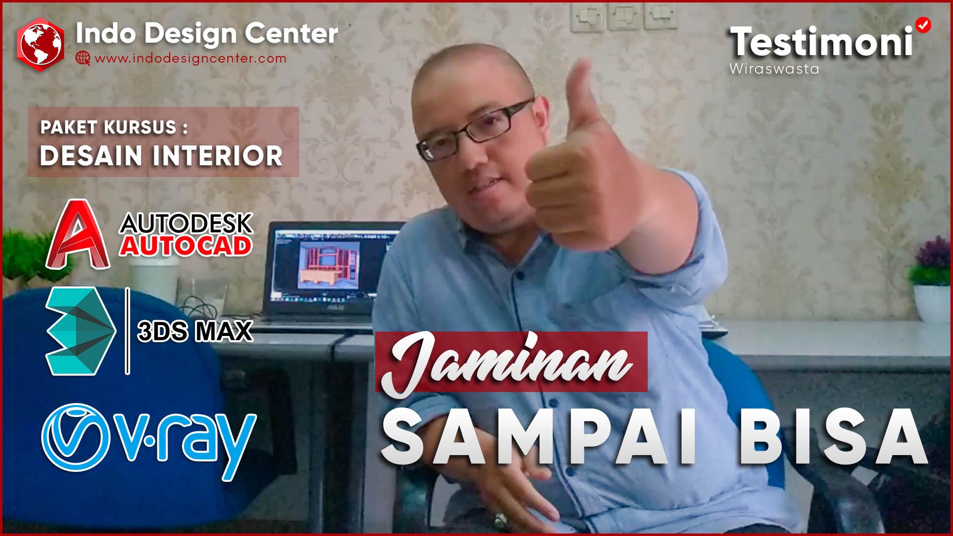 Danu-Desain Interior-Indo Design Center-Kursus Autocad Terbaik Jaminan Sampai Bisa