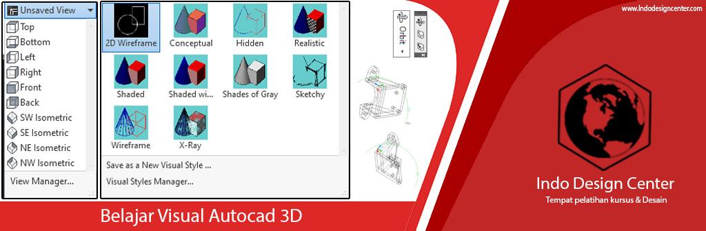 Belajar Visual Autocad 3D