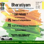 Be a part of Bharatiyam Munich car rally on 20th march