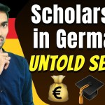 Scholarship in Germany | Untold Secret | How I won FIVE scholarships in Germany