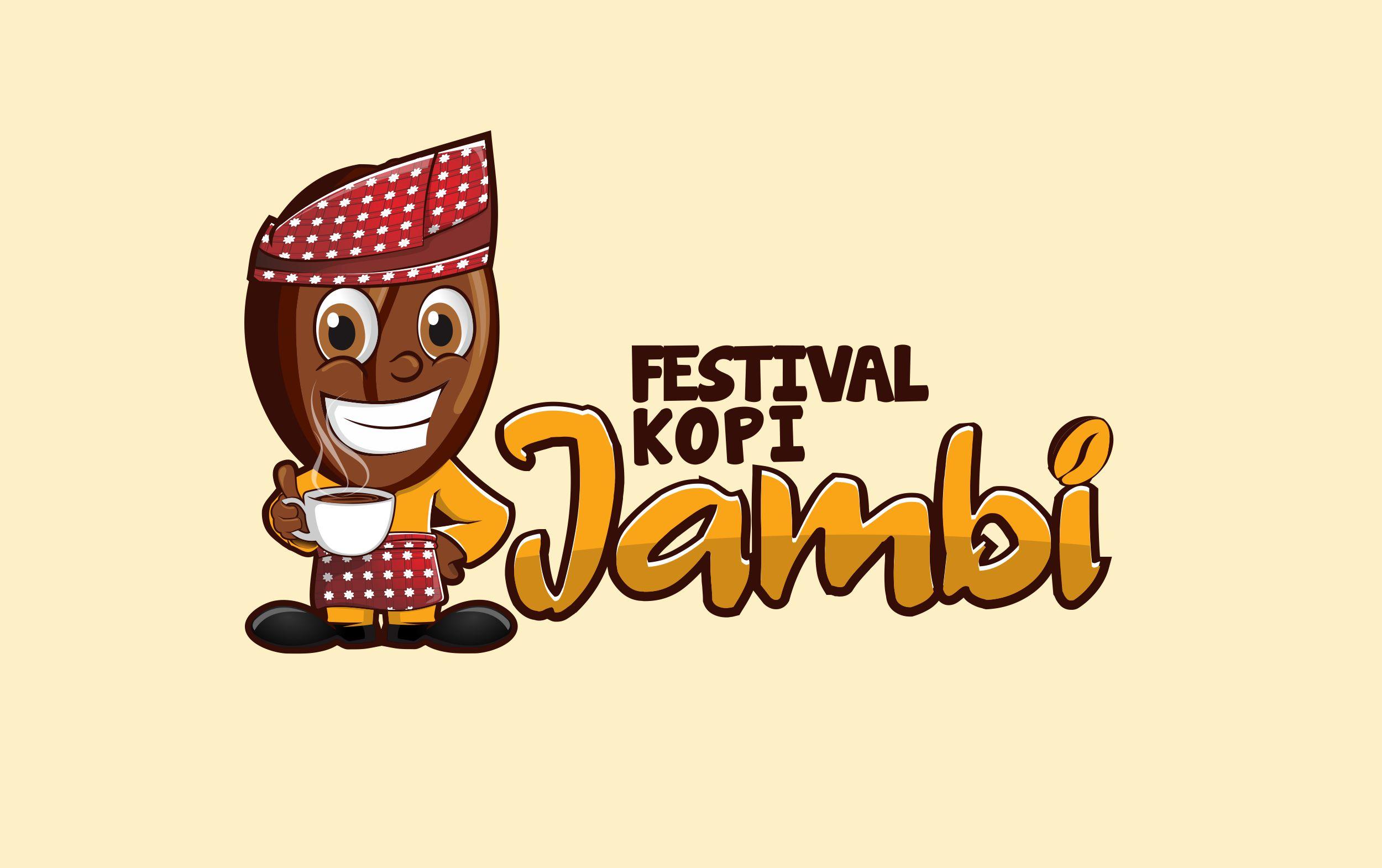 Maskot Festival Kopi Jambi