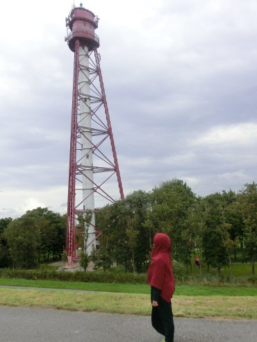Germany´s highest lighthouse in Campen