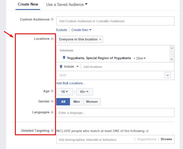 CARA ATUR AUDIENCE BUAT IKLAN DI FACEBOOK / FB ADS