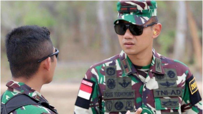 AHY saat jadi prajurut TNI
