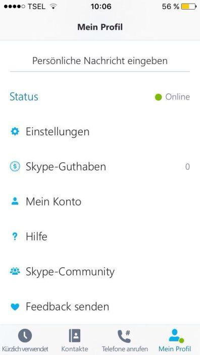 Apps- Skype 2