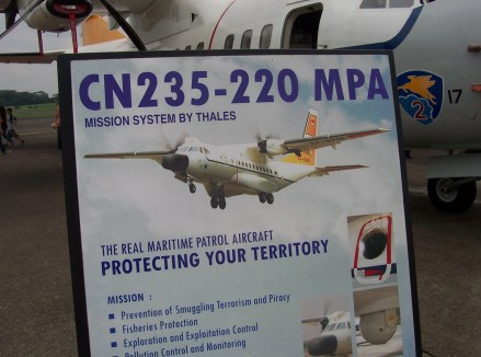 Display Spesifikasi CN-235 MPA