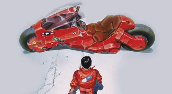 Akira motorbike replica