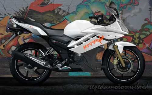 TVS Apache RTR Modification