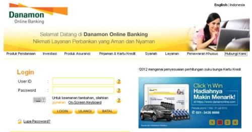 Internet Banking Danamonline