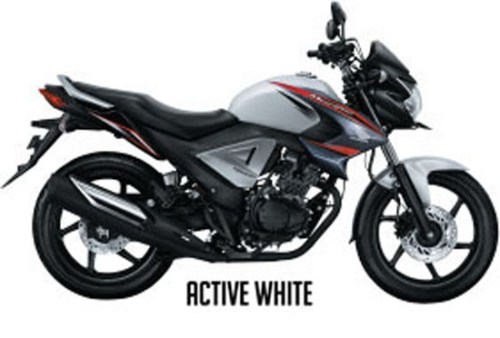 Honda New Megapro FI - Warna Active White