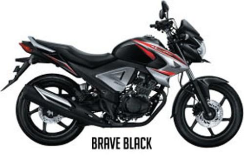 Honda New Megapro FI - Warna Brave Black