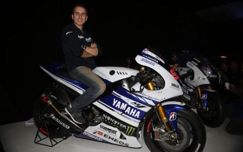 Yamaha YZR-M1 Livery MotoGP 2014 - Lorenzo