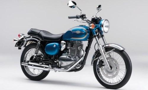 Kawasaki Estrella - Candy Carribian Blue - Standard Version - 2014