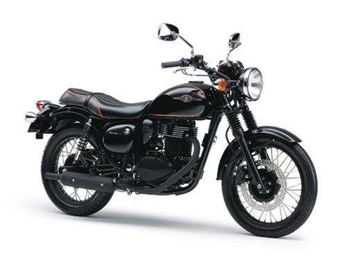 Kawasaki Estrella - Metallic Spark Black - Special Edition - 2014