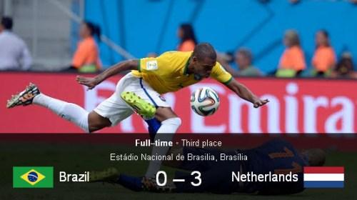 Brazil vs Belanda